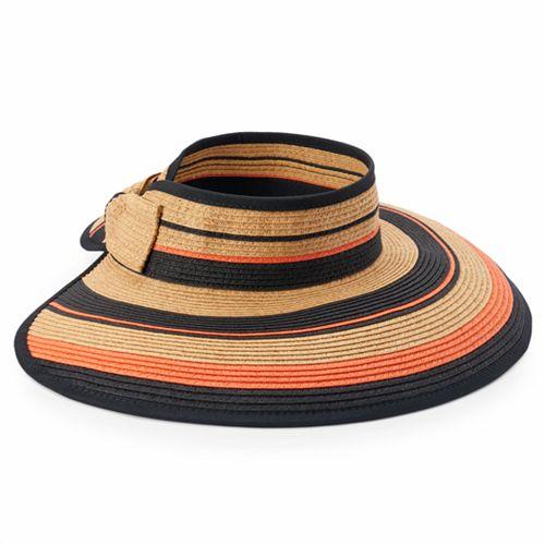 Women's SONOMA Goods for Life™ Striped Roll-Up Visor