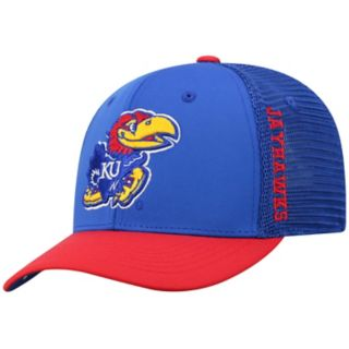 Adult Top of the World Kansas Jayhawks Chatter Memory-Fit Cap