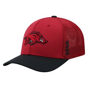 Adult Top of the World Arkansas Razorbacks Chatter Memory-Fit Cap