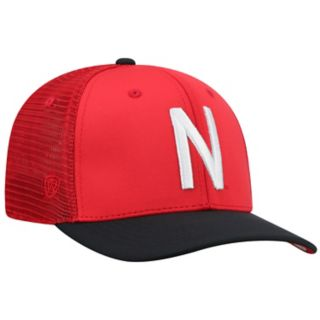 Adult Top of the World Nebraska Cornhuskers Chatter Memory-Fit Cap
