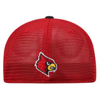 Adult Top of the World Louisville Cardinals Chatter Memory-Fit Cap