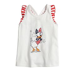Disney's Daisy Duck Toddler Girl Patriotic Graphic Tank Top by Jumping Beans®