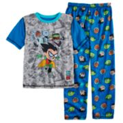 Boys 4-20 Teen Titans 2-Piece Pajama Set
