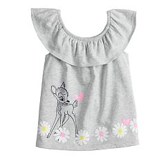 Disney's Bambi Toddler Girl Graphic Ruffled Tank Top by Jumping Beans®