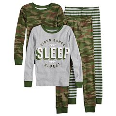 Boys 4-14 Carter's Video Game 4-Piece Pajama Set