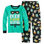 "Boys 4-8 Carter's ""Kickin' It Before Bedtime"" 2-Piece Pajama Set"