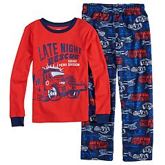 Boys 4-8 Carter's 'Late Night Rescue' 2-Piece Pajama Set