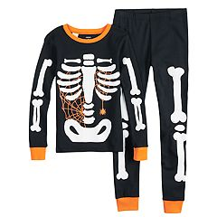 Boys 4-14 Carter's Skeleton 4-Piece Pajama Set