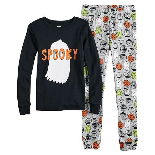 Boys 4-14 Carter's Ghost 2-Piece Pajamas