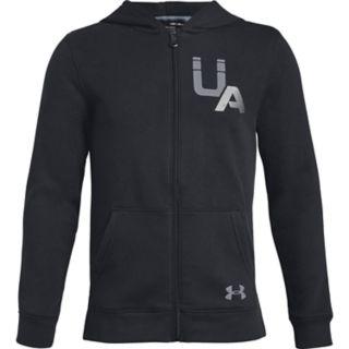 Boys 8-20 Under Armour Rival Logo Full-Zip Hoodie