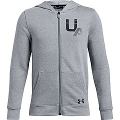 Boys 8-20 Under Armour Rival Logo Full-Zip Hoodie