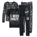 "Boys 4-8 Carter's ""I Need Space"" 4-Piece Glow-In-The-Dark Pajama Set"