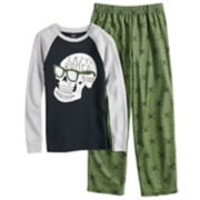"Boys 4-14 Carter's ""Lazy Bones"" 2-Piece Pajama Set"