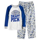 "Boys 4-12 Carter's ""Draft Pick"" 2-Piece Pajama Set"