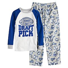 Boys 4-12 Carter's 'Draft Pick' 2-Piece Pajama Set