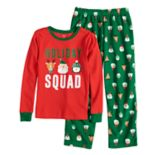 Boys 4-8 Carter's Holiday Squad 2-Piece Pajama Set