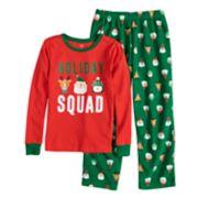 Boys 4-8 Carter's Holiday Squad 2-Piece Pajama Set