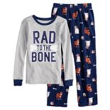 "Boys 4-14 Carter's ""Bad To the Bone"" 2-Piece Pajama Set"