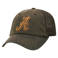 Adult Top of the World Alabama Crimson Tide Chestnut Adjustable Cap
