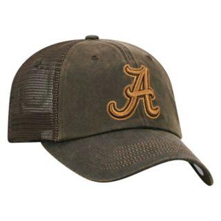 Adult Top of the World Alabama Crimson Tide Chestnut Adjustable Cap