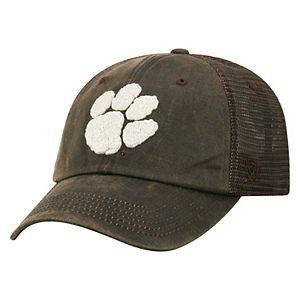 Adult Top of the World Clemson Tigers Chestnut Adjustable Cap