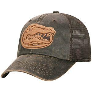 Adult Top of the World Florida Gators Chestnut Adjustable Cap