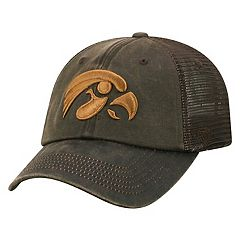 Adult Top of the World Iowa Hawkeyes Chestnut Adjustable Cap