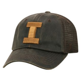 Adult Top of the World Illinois Fighting Illini Chestnut Adjustable Cap