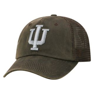 Adult Top of the World Indiana Hoosiers Chestnut Adjustable Cap