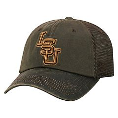 Adult Top of the World LSU Tigers Chestnut Adjustable Cap