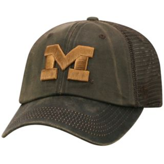 Adult Top of the World Michigan Wolverines Chestnut Adjustable Cap
