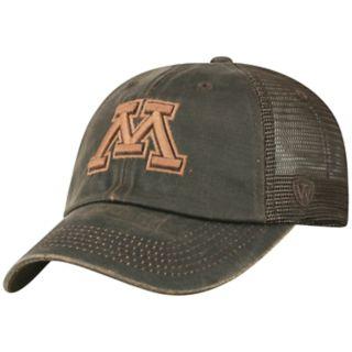 Adult Top of the World Minnesota Golden Gophers Chestnut Adjustable Cap