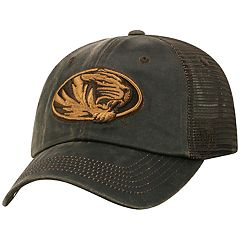 Adult Top of the World Missouri Tigers Chestnut Adjustable Cap