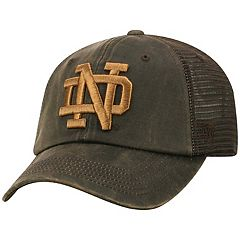Adult Top of the World Notre Dame Fighting Irish Chestnut Adjustable Cap