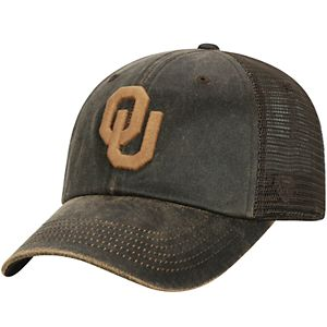 Adult Top of the World Oklahoma Sooners Chestnut Adjustable Cap