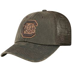 Adult Top of the World South Carolina Gamecocks Chestnut Adjustable Cap