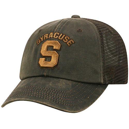 Adult Top of the World Syracuse Orange Chestnut Adjustable Cap