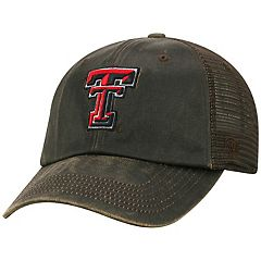 Adult Top of the World Texas Tech Red Raiders Chestnut Adjustable Cap