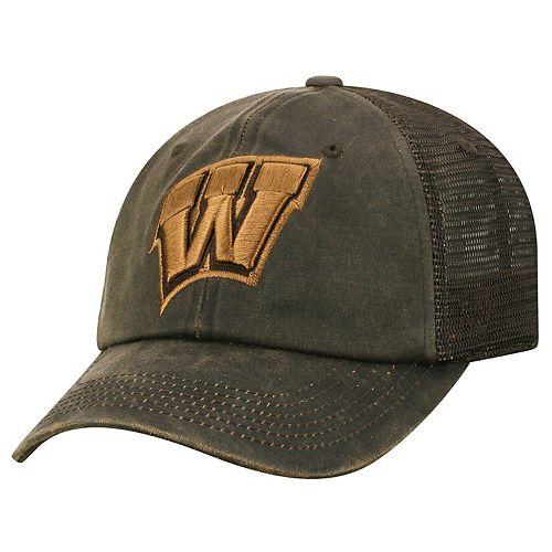 Adult Top of the World Wisconsin Badgers Chestnut Adjustable Cap