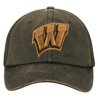 Adult Top of the World Wisconsin Badgers Chestnut Adjustable Cap