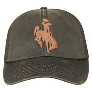 Adult Top of the World Wyoming Cowboys Chestnut Adjustable Cap