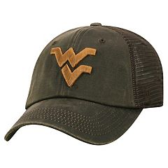 Adult Top of the World West Virginia Mountaineers Chestnut Adjustable Cap