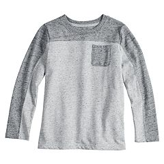 Boys 4-12 SONOMA Goods for Life™ Colorblock Pocket Tee