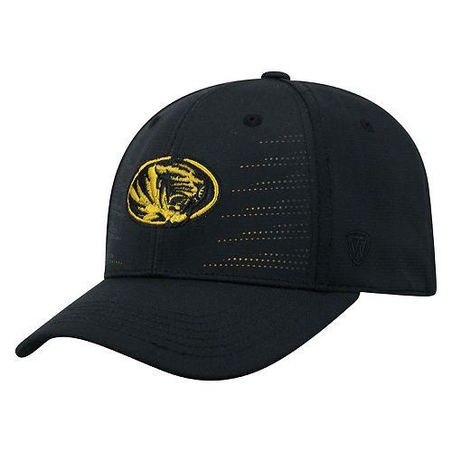 Adult Top of the World Missouri Tigers Dazed Performance Cap