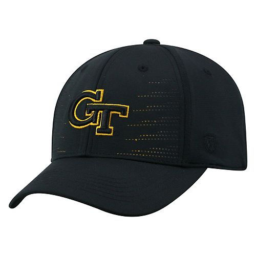 Adult Top of the World Georgia Tech Yellow Jackets Dazed Performance Cap