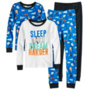Boys 4-8 Carter's 4-Piece Pajama Set