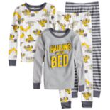 Boys 4-8 Carter's Dumptruck 4-Piece Pajama Set