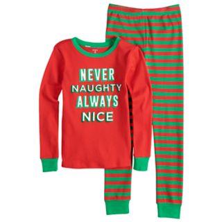 "Boys 4-12 Carter's ""Always Nice"" 2-Piece Pajama Set"