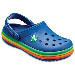 Crocs Rainbow Band Kids' Clogs
