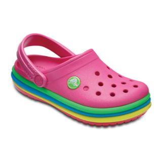 Crocs Rainbow Band Kids' Clogs